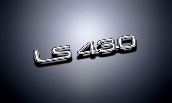 【《LS430》レクサスエンブレム[4点セット]・30/31セルシオ後期・LEXUS北米仕様】
